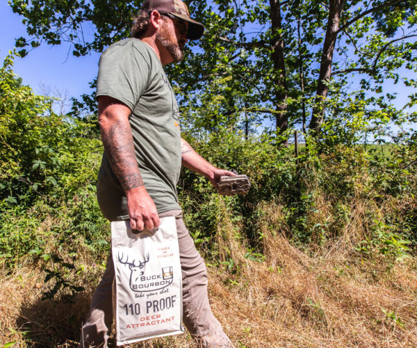 110 Proof Deer Attractant with easy carry handle